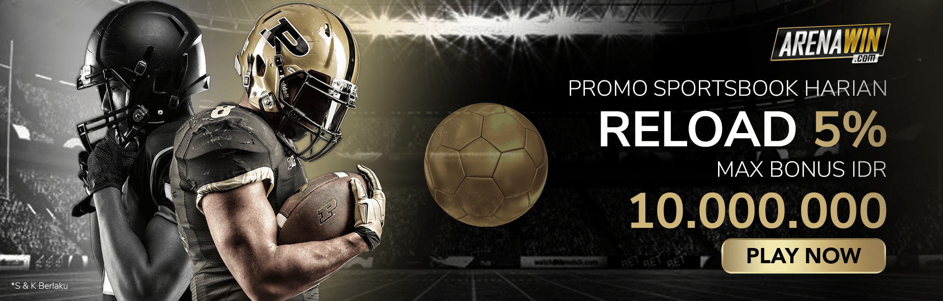 PROMO RELOAD SPORTSBOOK 5%